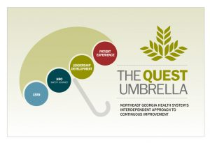 Quest For Excellence Umbrella | NGMC GME