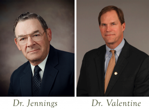 Dr. Jennings and Dr. Valentine